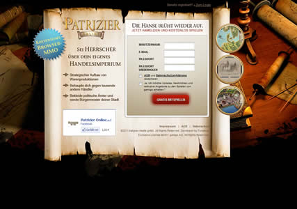 Patrizier Online Screenshot 0
