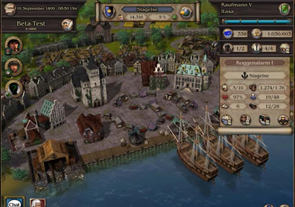 Patrizier Online Screenshot 1