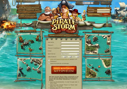 Pirate Storm Screenshot 0