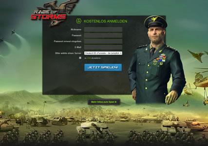 Rage of Storms Screenshot 0
