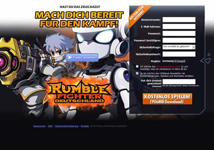Rumble Fighter Screenshot 0