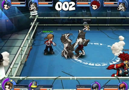 Rumble Fighter Screenshot 1