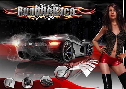 RumbleRace Downtown Screenshot 0