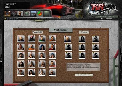 RumbleRace Downtown Screenshot 1