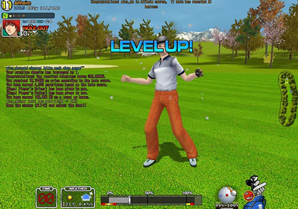 Golf Browsergame