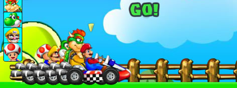 Super Mario Racing teaser