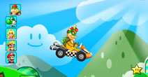 Super Mario Racing browsergame
