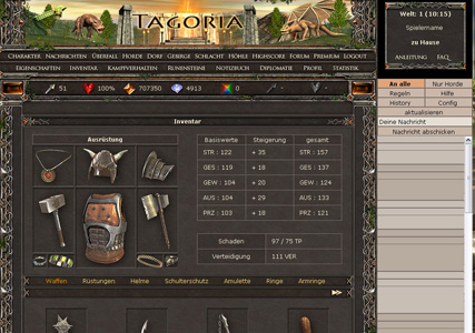 Tagoria Screenshot 1