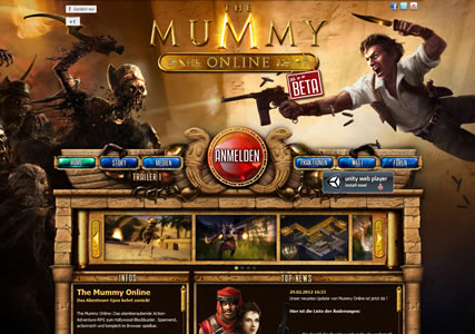 The Mummy Online Screenshot 0