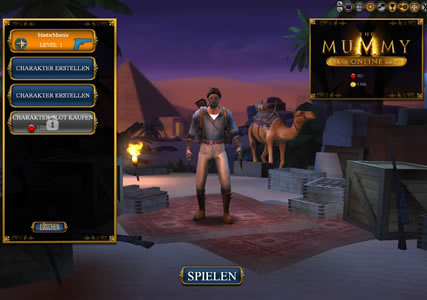 The Mummy Online Screenshot 1