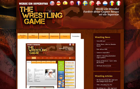 The Wrestling Game Screenshot 0