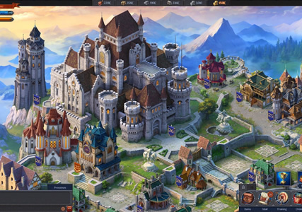 Throne: Kingdom at War Screenshot 1