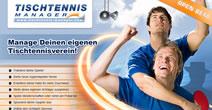 Tischtennis Manager browsergame