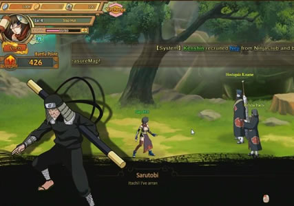 Ultimate Naruto Screenshot 2
