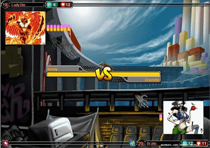 Urban Rivals Screenshot 1
