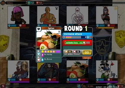Urban Rivals Screenshot 2