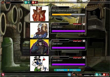 Urban Rivals Screenshot 3