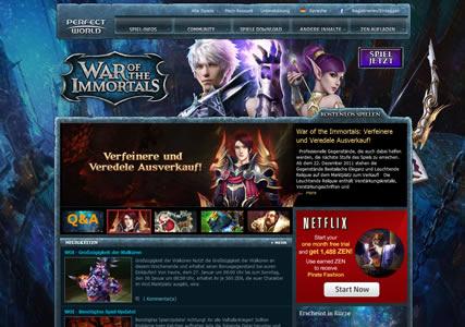 War of the Immortals Screenshot 0